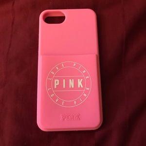 iPhone 6/7/8 Pink Victoria's Secret Case